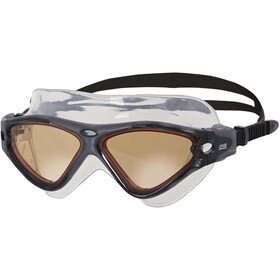 Zoggs Tri-Vision Mask Zwembril, black/cv
